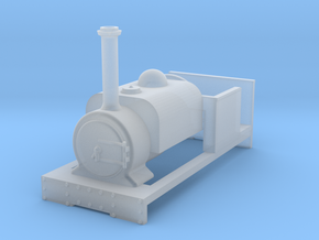 009 'Tiny Trains' Preset Hunslet Tank in Smooth Fine Detail Plastic