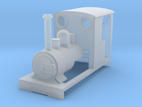 009 'Tiny Trains' Preset Waril Tank in Smooth Fine Detail Plastic