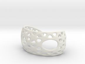 Snub Bracelet in White Strong & Flexible