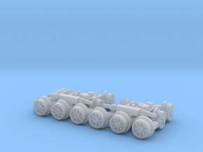 Parts DeLorean Time Machine Train HO 1:87 in Smooth Fine Detail Plastic