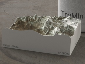 Aconcagua, Argentina, 1:150000 Explorer in Full Color Sandstone
