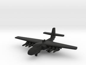 Douglas F6D Missileer in Black Natural Versatile Plastic: 1:500