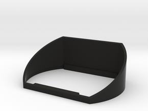 COBI.Bike Frontlich Cover in Black Natural Versatile Plastic