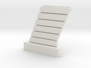 1:32 Viper Bay Wall (C) in White Natural Versatile Plastic