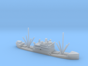 1/1250 Scale 3000 DW ton Cargo Steamer Atlantus in Smooth Fine Detail Plastic
