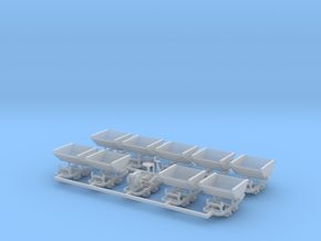 Feldbahn Set5 - TTf 1:120 in Smooth Fine Detail Plastic