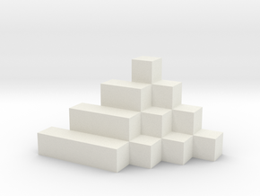 Sum of Squares 2 in White Natural Versatile Plastic