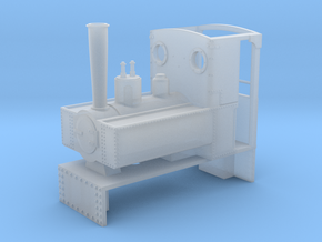 HOe Decauville 0-4-0  in Smooth Fine Detail Plastic
