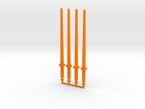 Magno Force Saber in Orange Processed Versatile Plastic: Large