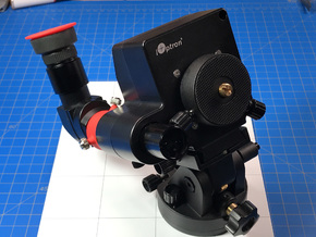 Right Angle Scope Adapter for SkyTracker Pro and & in Red Processed Versatile Plastic