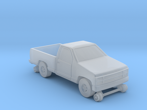 MOW Pickup Truck - Z Scale in Smooth Fine Detail Plastic