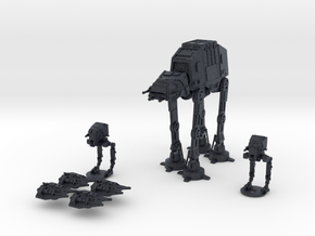 Theme: Battle of Hoth in Black PA12