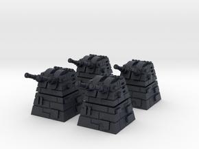 4x Turbolaser Turret in Black PA12