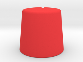Tivoli Hi-Fi Knob in Red Processed Versatile Plastic