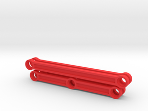 Rods for Lego BR80 steam locomotive in Red Processed Versatile Plastic