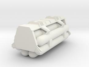 1:72 Work Bee Liquid Carrier Version 2 in White Natural Versatile Plastic