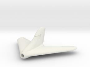 (1:144) Lippisch P15-1 in White Natural Versatile Plastic