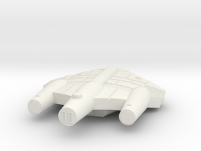 3788 Scale ISC System Defense Frigate (NFF) SRZ in White Natural Versatile Plastic