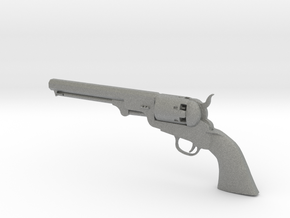 Colt 1851 1/9 scale  in Gray PA12