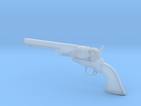 Colt 1851 1/9 scale  in Smooth Fine Detail Plastic