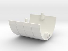 1/350 R class Zeppelin L32 (LZ74) Part 4 in White Natural Versatile Plastic