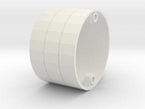 1/350 R class Zeppelin L32 (LZ74) Part 6 in White Natural Versatile Plastic
