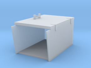 2 cm Closed Ammo boxes 1 to 40 in Smooth Fine Detail Plastic