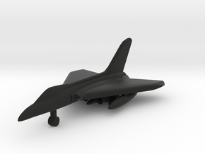 Douglas F5D Skylancer in Black Natural Versatile Plastic: 1:500