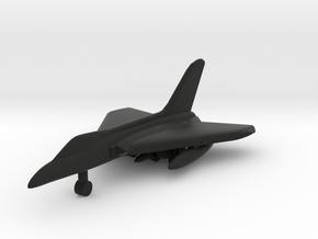 Douglas F5D Skylancer in Black Natural Versatile Plastic: 1:500