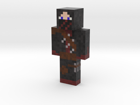Bloody shadow   Minecraft toy in Natural Full Color Sandstone