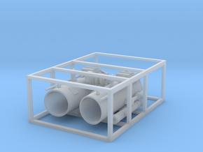 1 zu 40 Torpedotubeends in Smooth Fine Detail Plastic