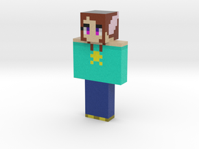 CherryBloosom10   Minecraft toy in Natural Full Color Sandstone