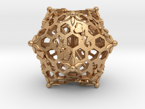 D20 Balanced - Bees in Natural Bronze