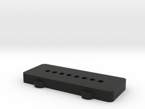 Fender 1000 Pedal Steel Guitar pickup cover in Black Natural Versatile Plastic