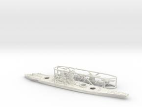 1/1800 IJN BB Musashi [1944] in White Natural Versatile Plastic