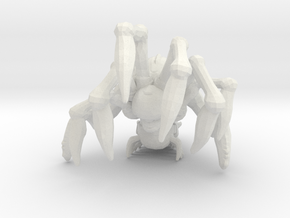 Gears of War Corpser 70mm miniature game rpg in White Natural Versatile Plastic