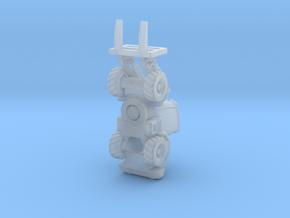 JCB417 forklift wheel loader rev1 in Smoothest Fine Detail Plastic: 1:200