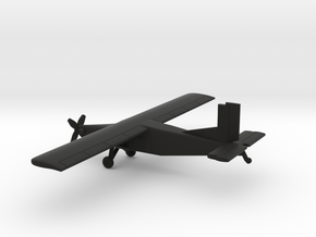 Pilatus PC-6 Porter in Black Natural Versatile Plastic: 1:200