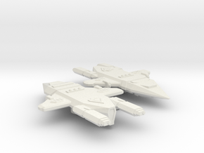 3788 Scale Orion Light Raiders (2) CVN in White Natural Versatile Plastic