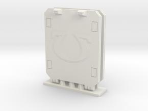 Ultra Corp Light Tank Doors Type 01 in White Natural Versatile Plastic