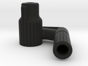 Straight PullBolt for VSR and Copies [Right Handed in Black Natural Versatile Plastic