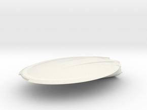 1/2500 USS Emmett Till Front in White Natural Versatile Plastic