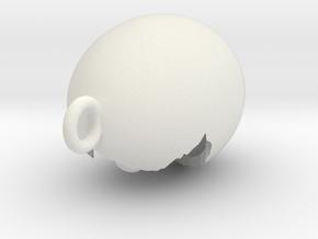updated pendant in White Natural Versatile Plastic