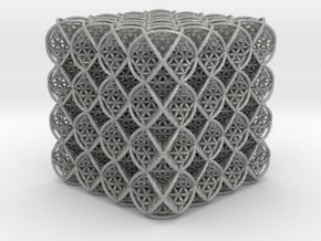 64 Cube of Life  in Aluminum