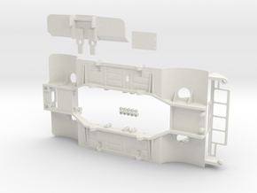 WPLLB1-01 WPL To Tamiya Lunchbox Body Chassis in White Natural Versatile Plastic