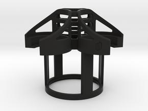 Chair Cup Holder Insert in Black Natural Versatile Plastic