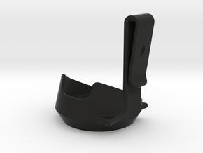 Peak Belt Clip in Black Natural Versatile Plastic