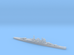 IJN Suzuya cruiser 1:2400 WW2 in Smoothest Fine Detail Plastic