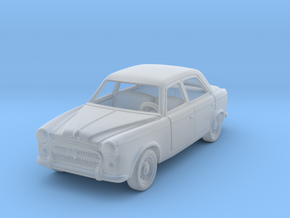 Peugeot 403 1:87 HO in Smooth Fine Detail Plastic