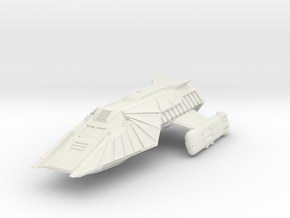 Shuttlecraft in White Natural Versatile Plastic